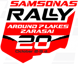 Samsonas Around 7 Lakes Rally Zarasai